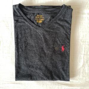 Polo Ralph Lauren Classic Fit V Neck T Shirt L NWT